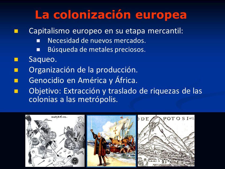 La colonización europea