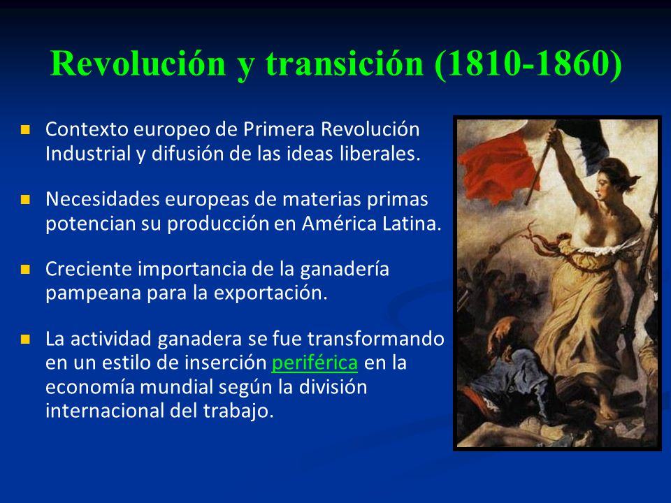 Revolución y transición (1810-1860)