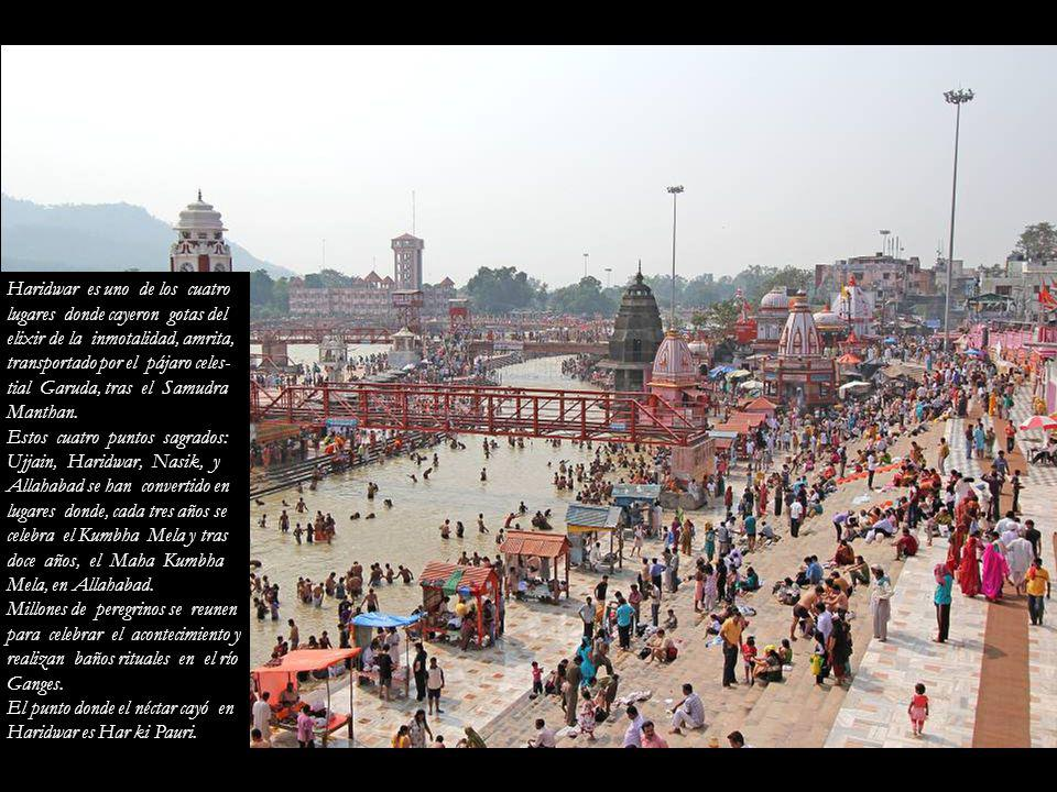 Haridwar es uno de los cuatro