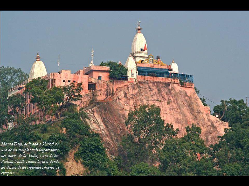 Mansa Devi, dedicado a Shakti, es