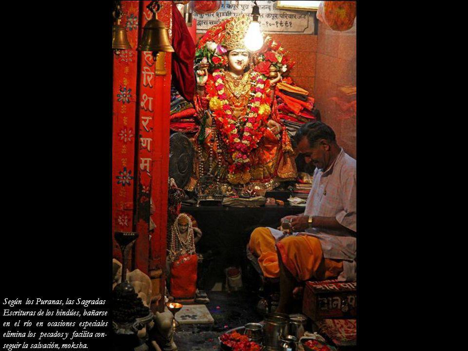 Según los Puranas, las Sagradas
