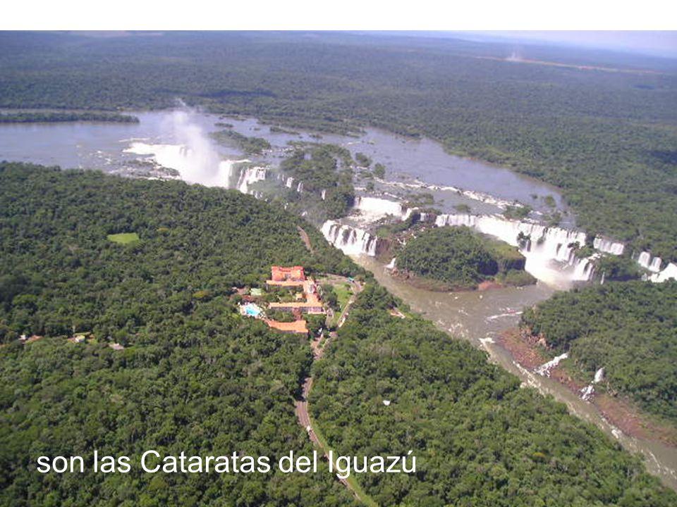 son las Cataratas del Iguazú