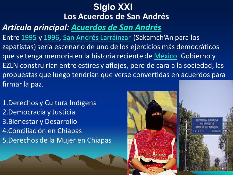 Los Acuerdos de San Andrés