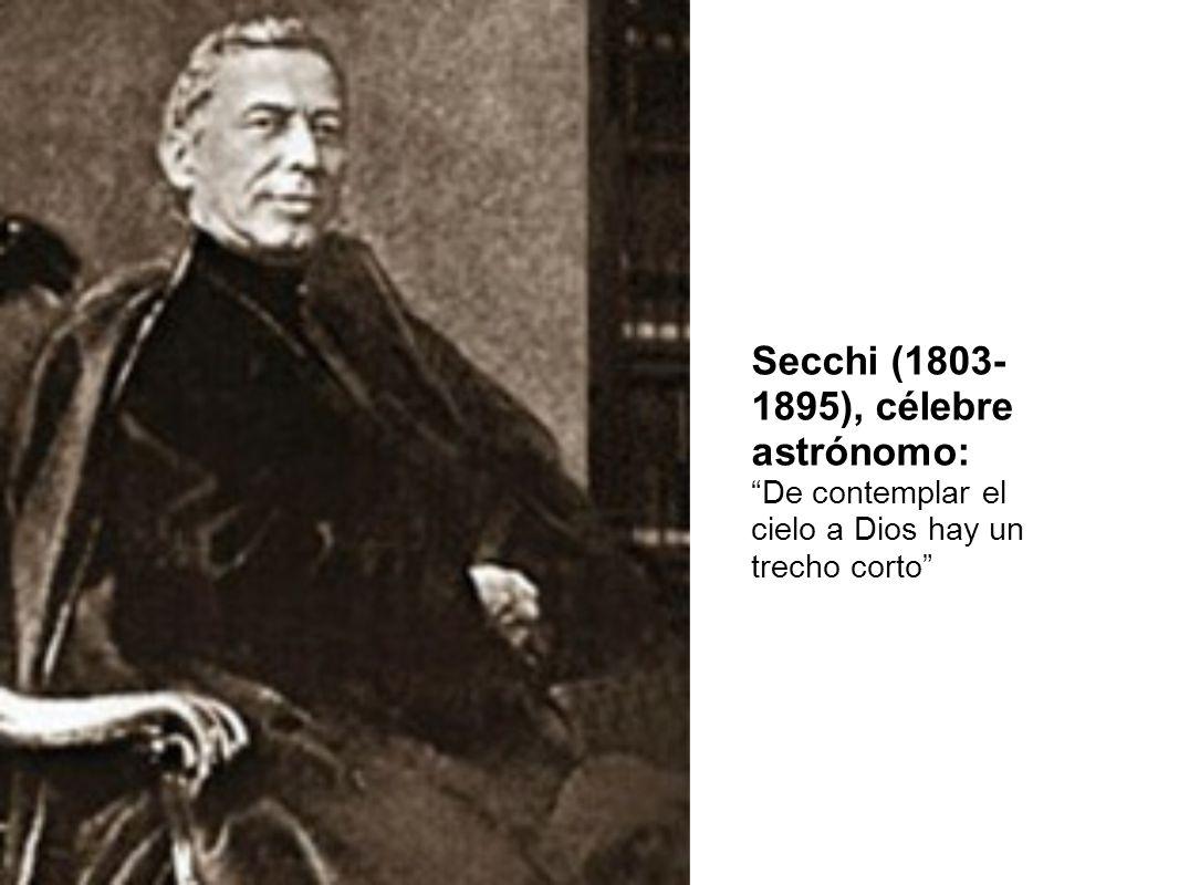 Secchi (1803- 1895), célebre astrónomo: