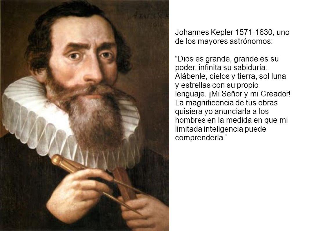 Johannes Kepler 1571-1630, uno de los mayores astrónomos: