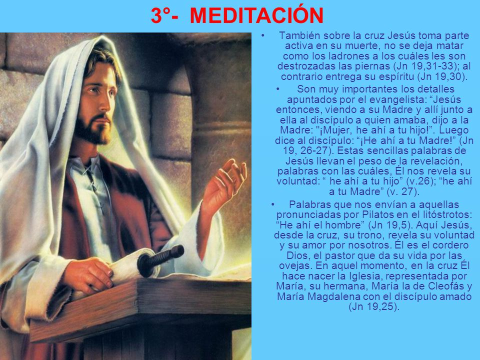 3°- MEDITACIÓN