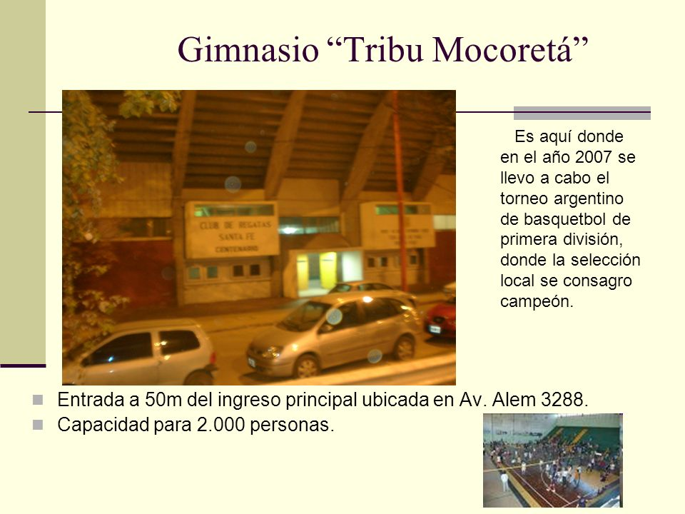 Gimnasio Tribu Mocoretá