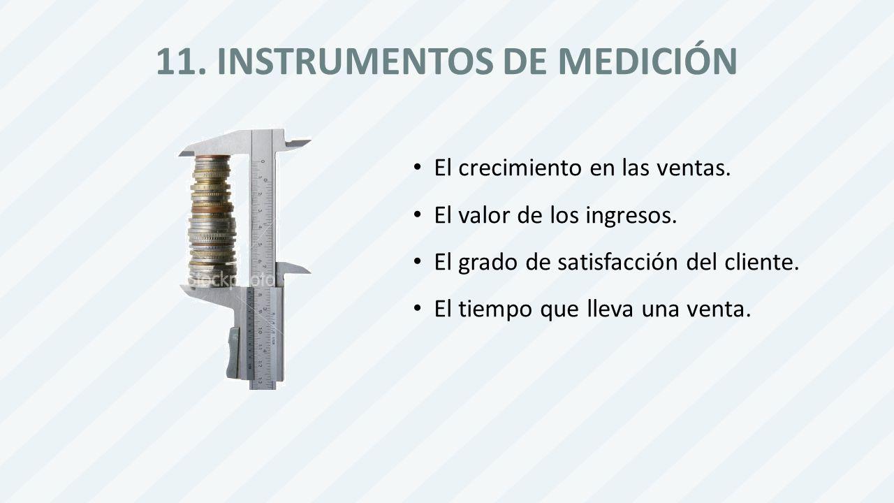 11. INSTRUMENTOS DE MEDICIÓN
