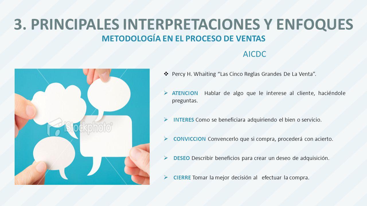 3. PRINCIPALES INTERPRETACIONES Y ENFOQUES