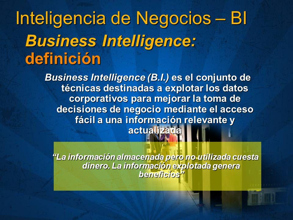 Inteligencia de Negocios – BI