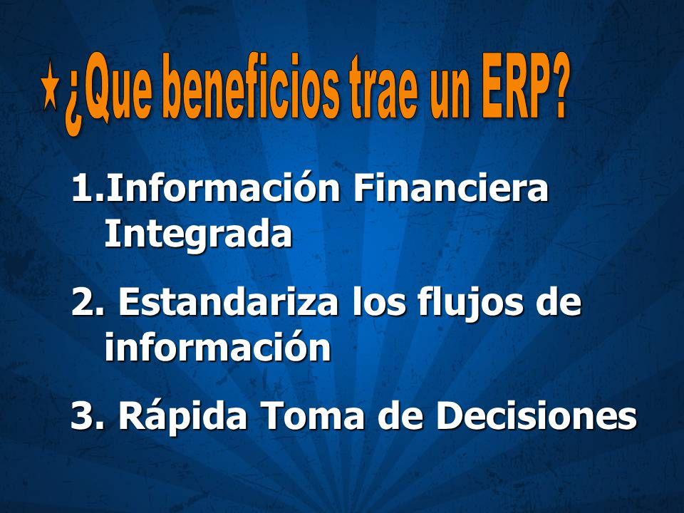 ¿Que beneficios trae un ERP