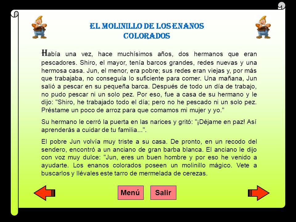 EL MOLINILLO DE LOS ENANOS COLORADOS