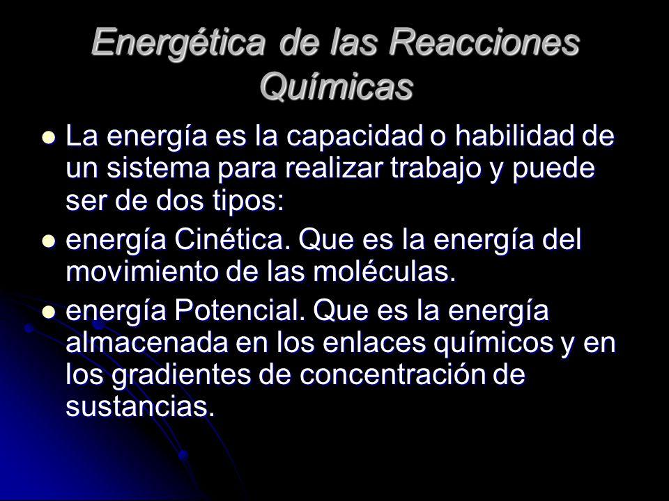Energética de las Reacciones Químicas