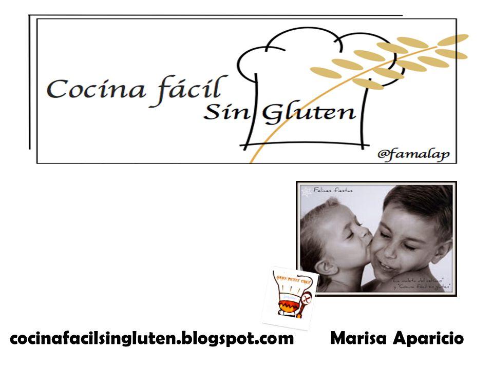 cocinafacilsingluten.blogspot.com Marisa Aparicio