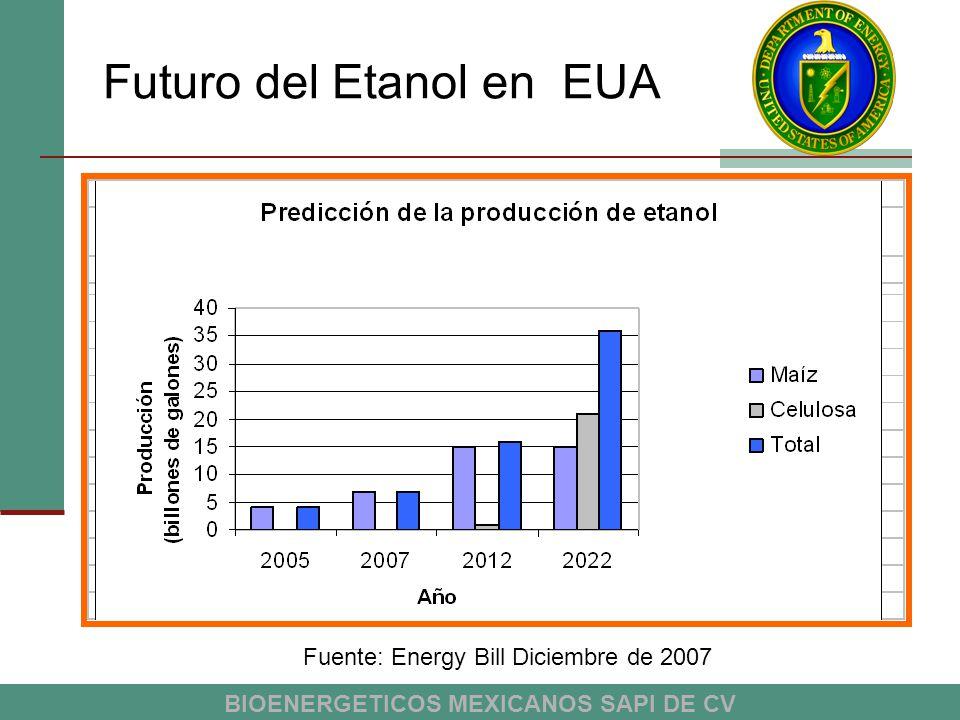 Futuro del Etanol en EUA