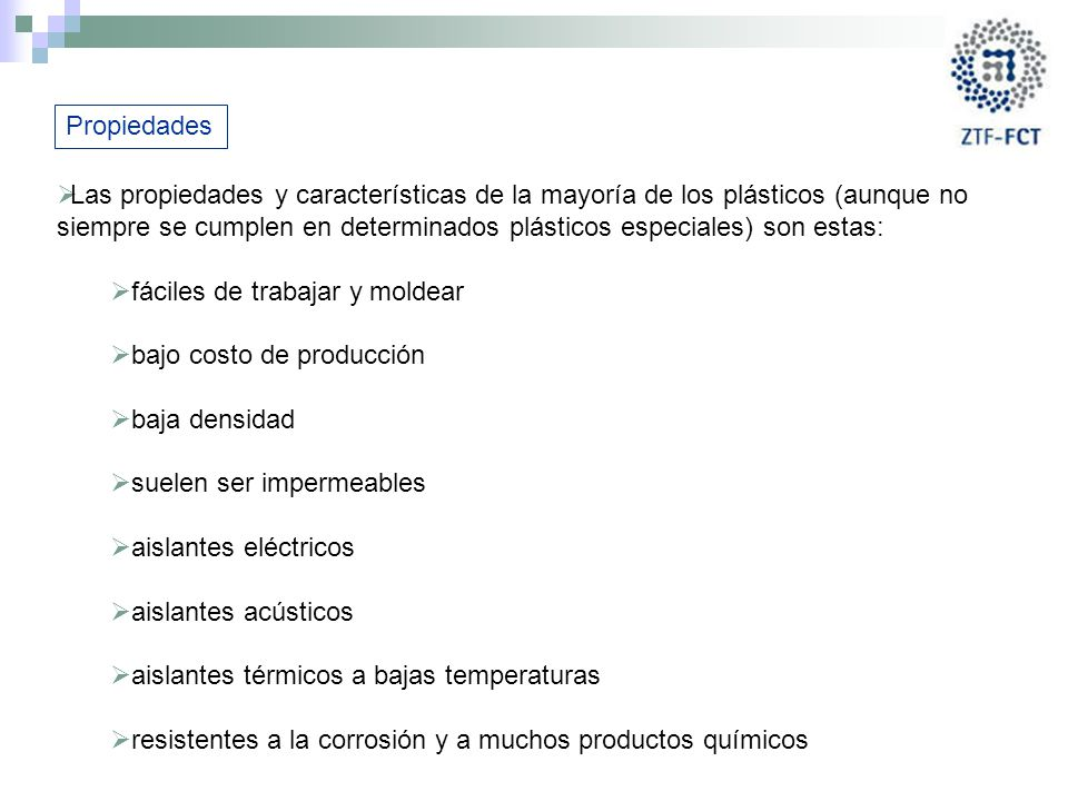 Pl sticos y composites ppt video online descargar - Plasticos aislantes termicos ...