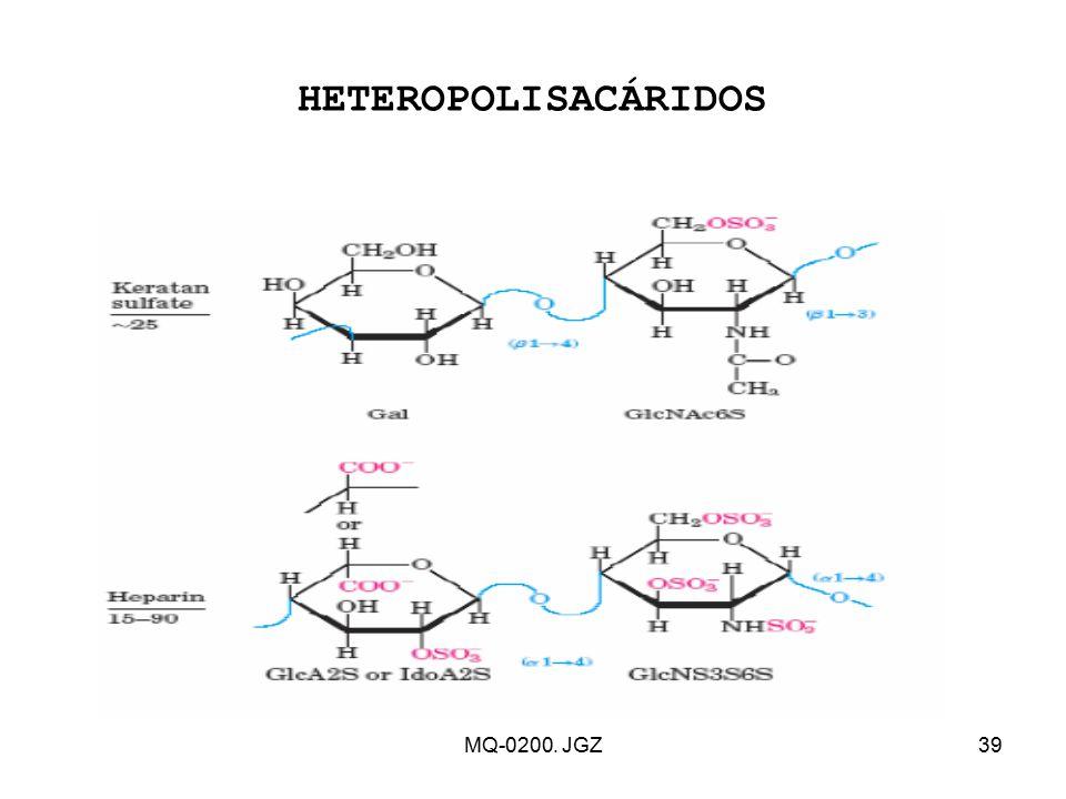 HETEROPOLISACÁRIDOS MQ-0200. JGZ