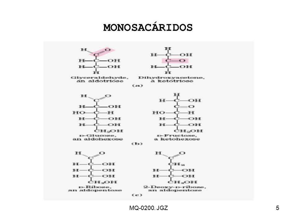 MONOSACÁRIDOS MQ-0200. JGZ