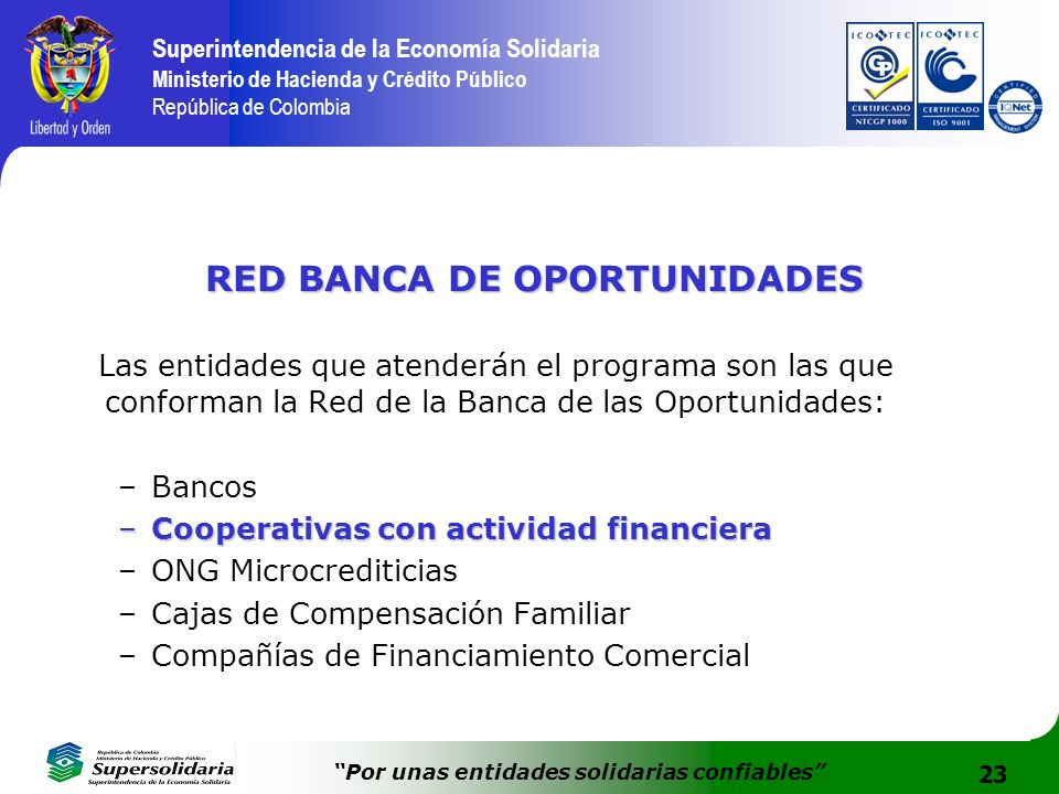 RED BANCA DE OPORTUNIDADES