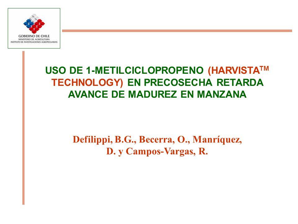 Defilippi, B.G., Becerra, O., Manríquez, D. y Campos-Vargas, R.