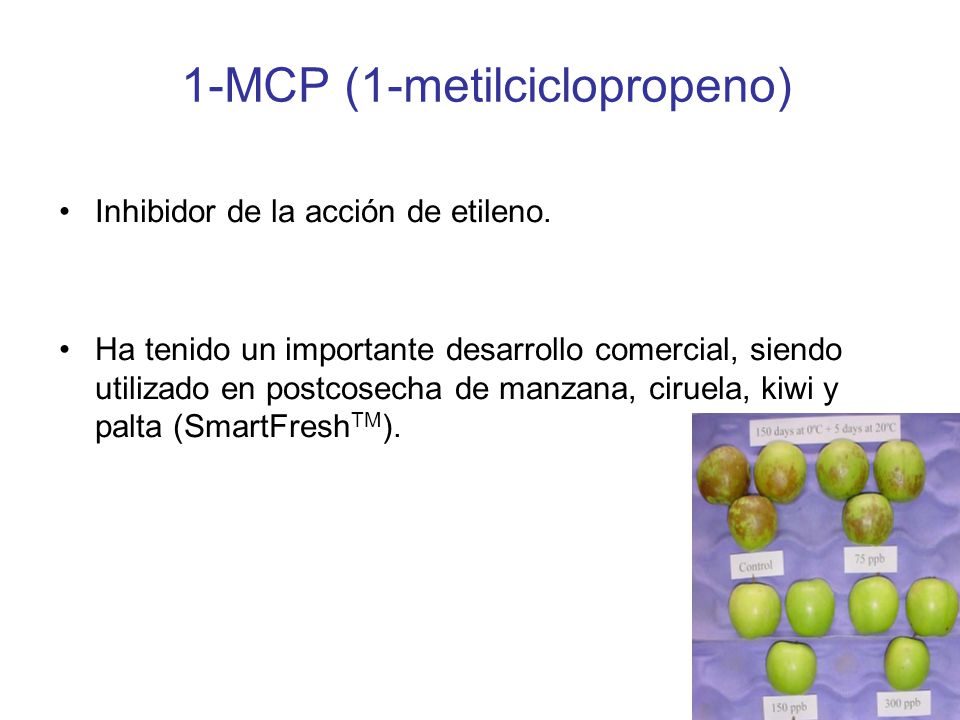 1-MCP (1-metilciclopropeno)