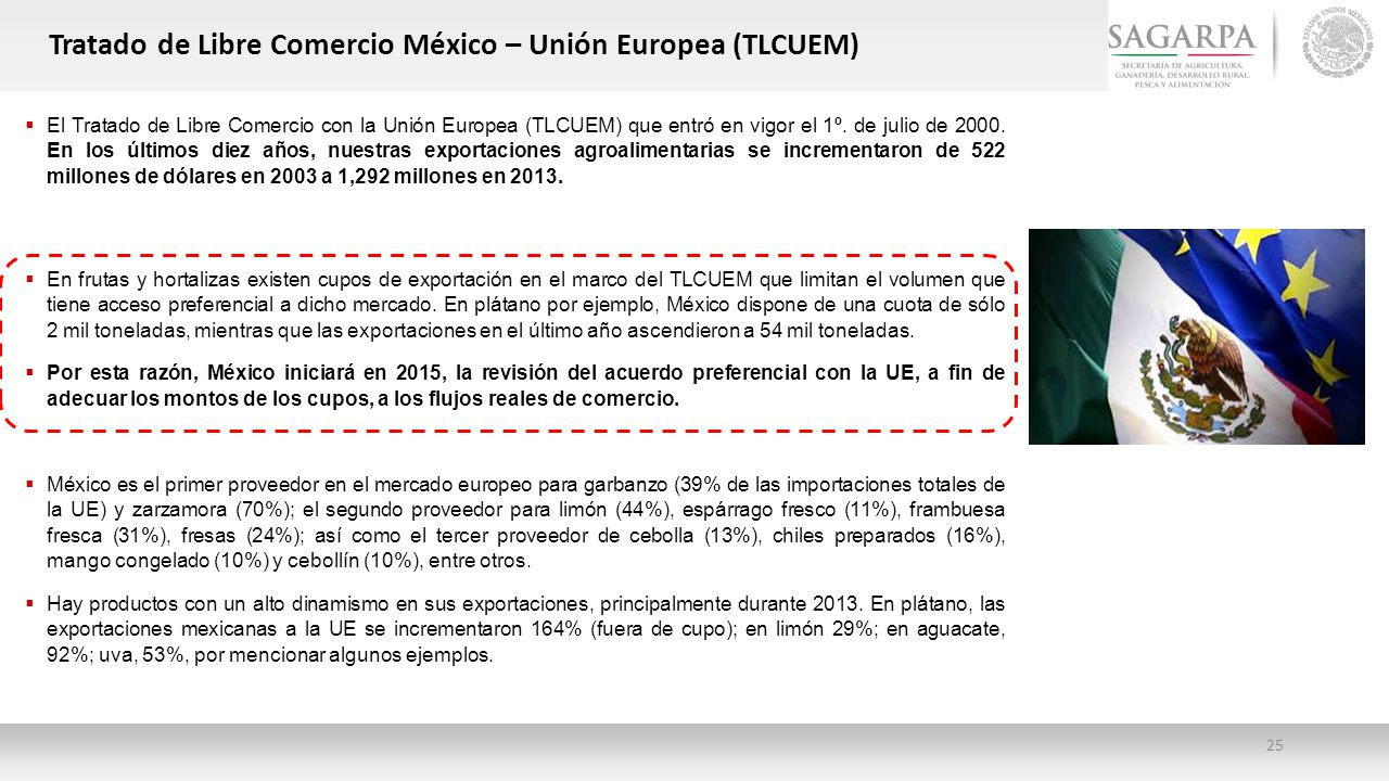 Tratado de Libre Comercio México – Unión Europea (TLCUEM)