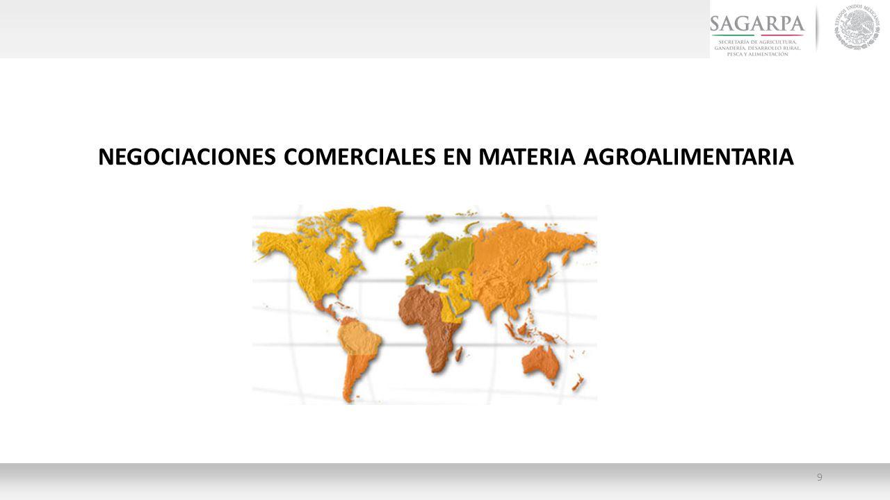 NEGOCIACIONES COMERCIALES EN MATERIA AGROALIMENTARIA