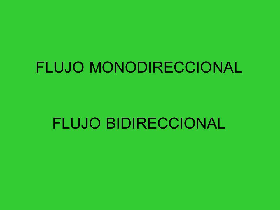 FLUJO MONODIRECCIONAL
