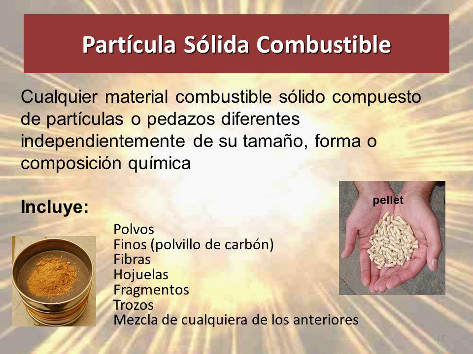 Partícula Sólida Combustible