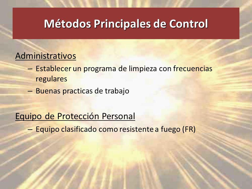Métodos Principales de Control