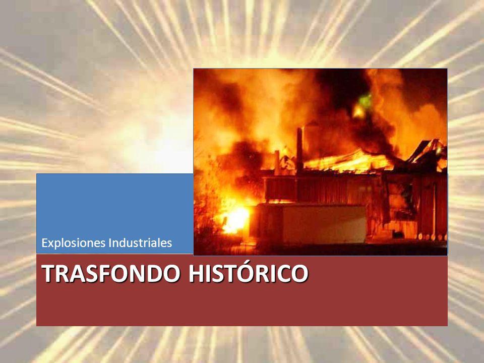 Trasfondo Histórico Explosiones Industriales