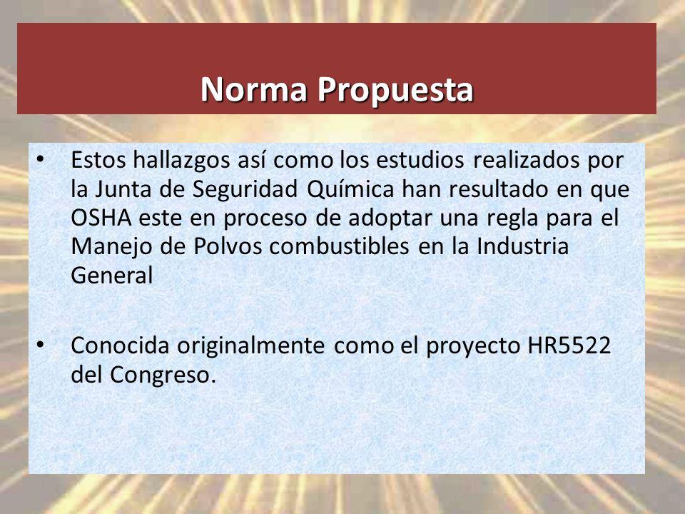 Norma Propuesta