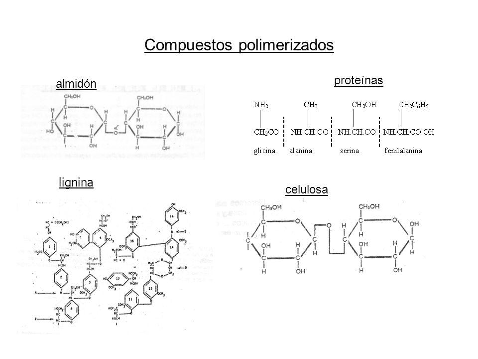 Compuestos polimerizados