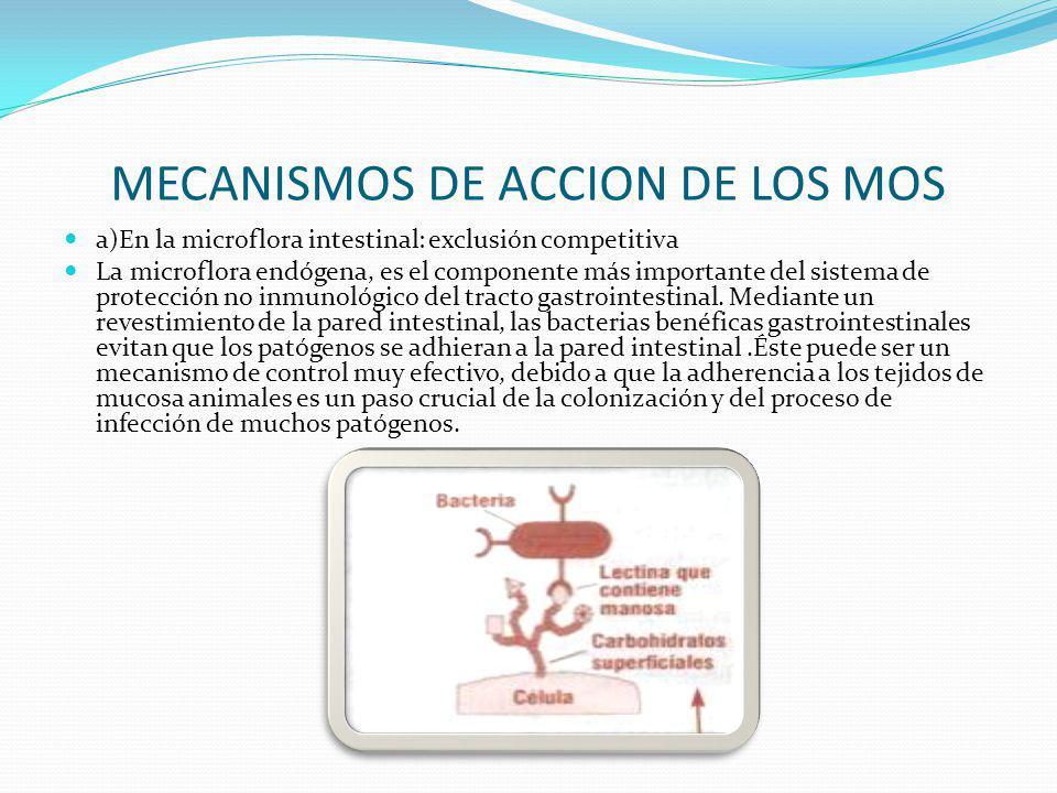 MECANISMOS DE ACCION DE LOS MOS