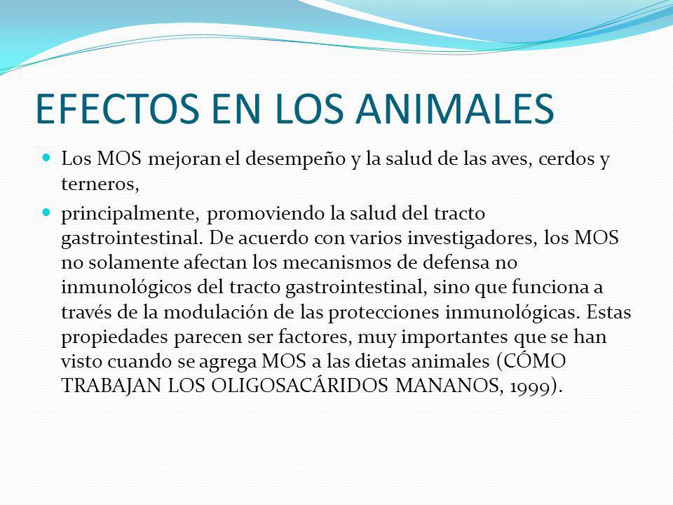 EFECTOS EN LOS ANIMALES