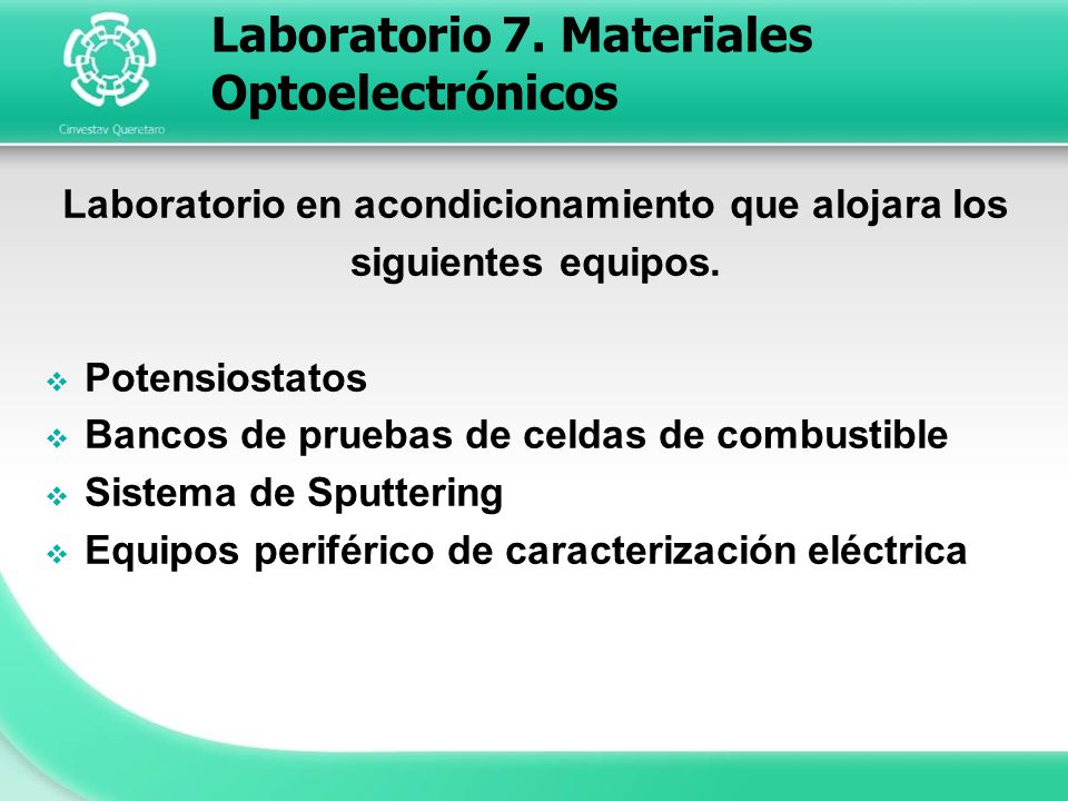 Laboratorio 7. Materiales Optoelectrónicos