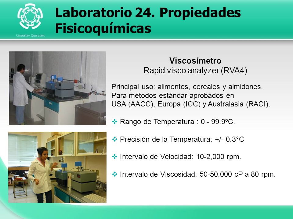 Rapid visco analyzer (RVA4)