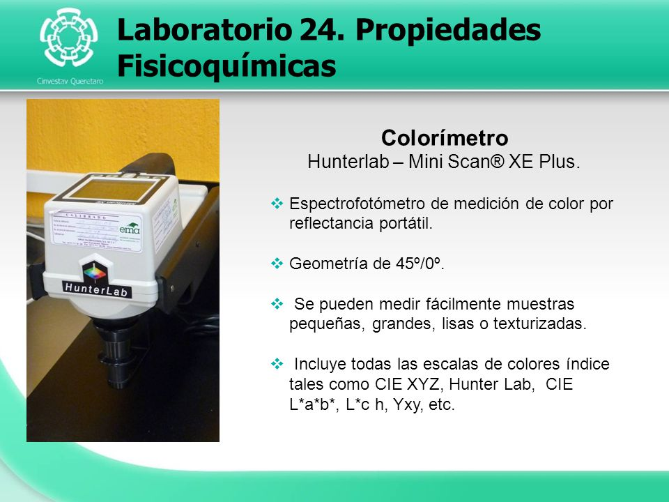 Hunterlab – Mini Scan® XE Plus.