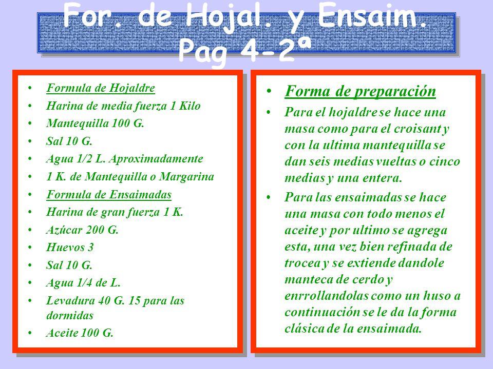 For. de Hojal. y Ensaim. Pag 4-2ª