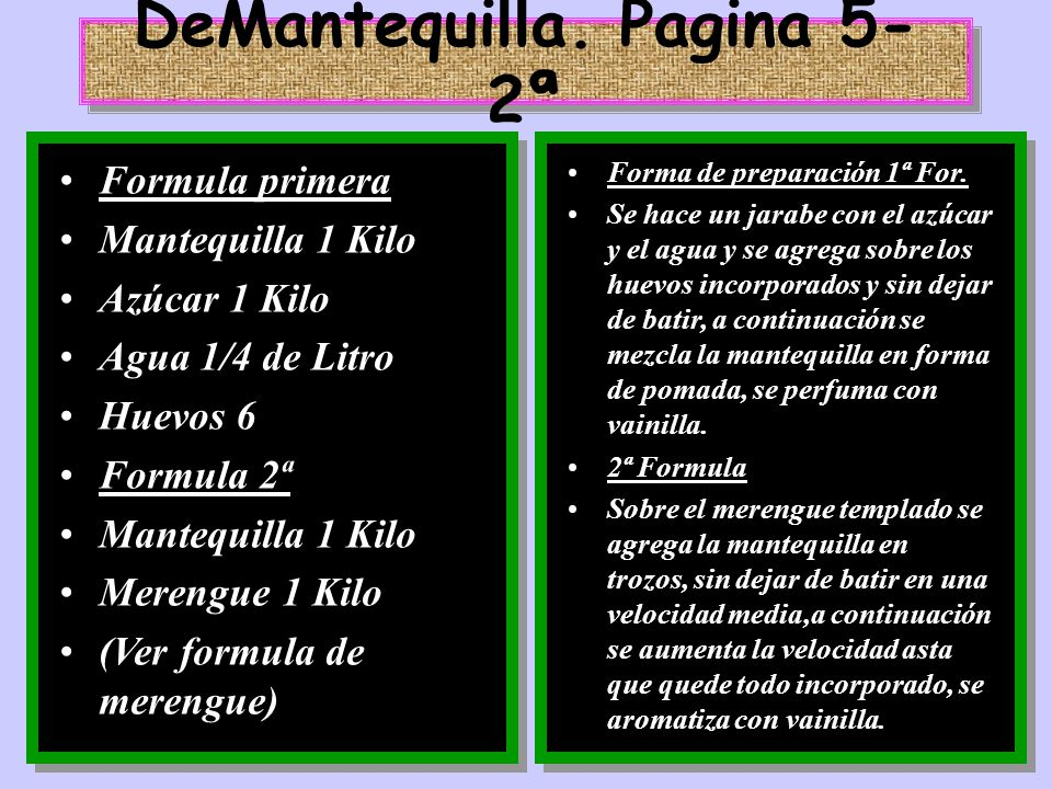DeMantequilla. Pagina 5-2ª