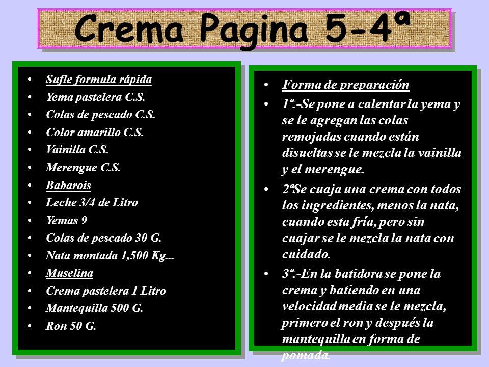 Crema Pagina 5-4ª Forma de preparación