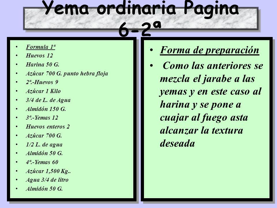 Yema ordinaria Pagina 6-2ª
