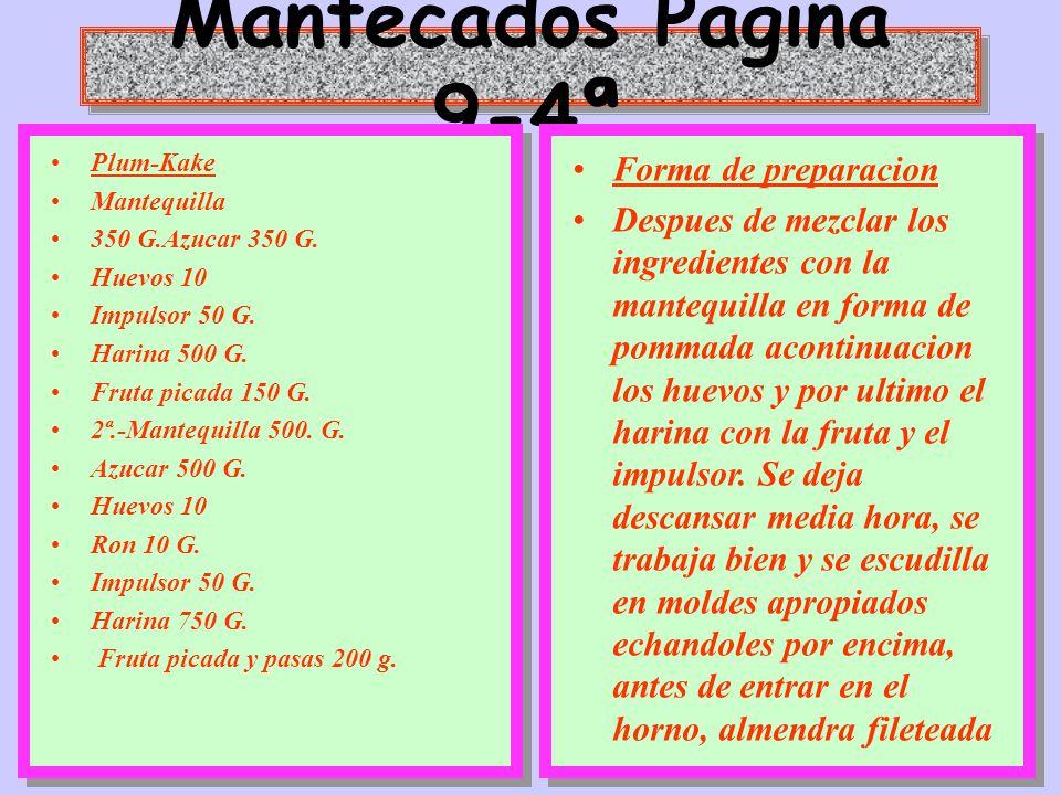 Mantecados Pagina 9-4ª Forma de preparacion
