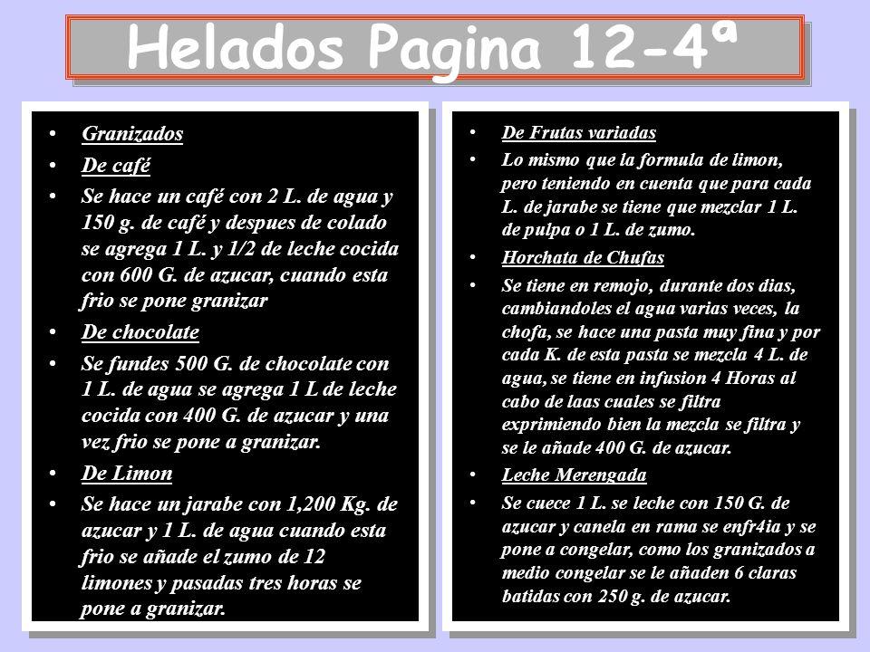 Helados Pagina 12-4ª Granizados De café