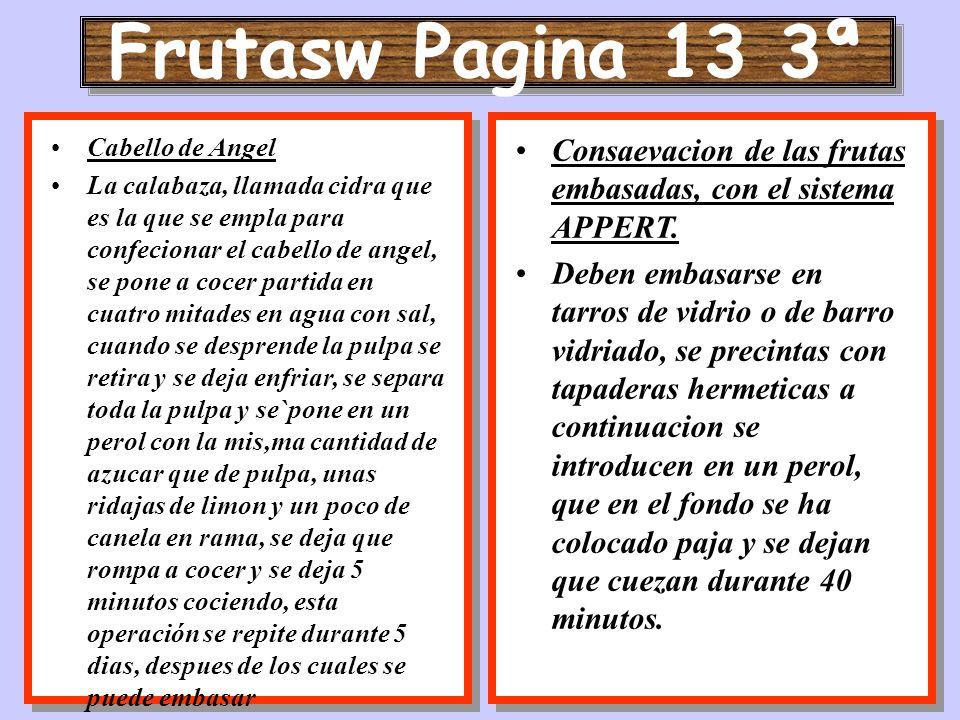 Frutasw Pagina 13 3ª Cabello de Angel.