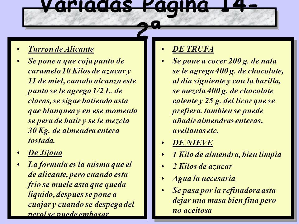 Variadas Pagina 14-2ª Turron de Alicante