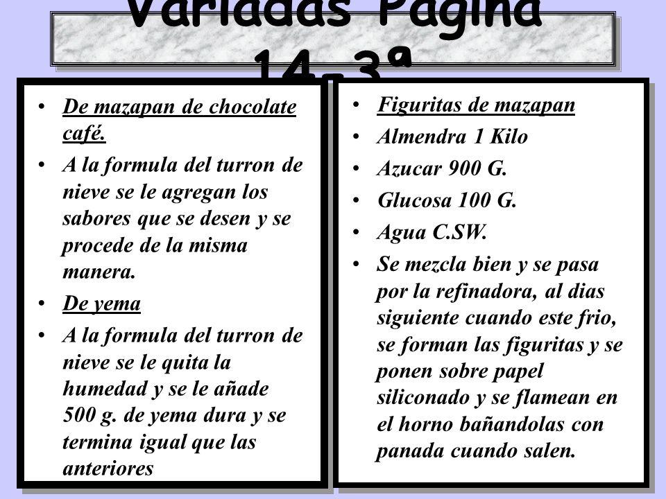 Variadas Pagina 14-3ª De mazapan de chocolate café.