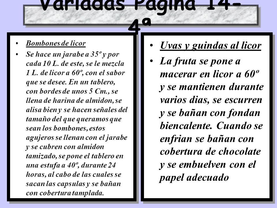 Variadas Pagina 14-4ª Uvas y guindas al licor