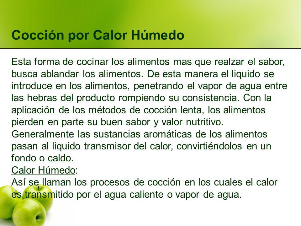 Cocción por Calor Húmedo