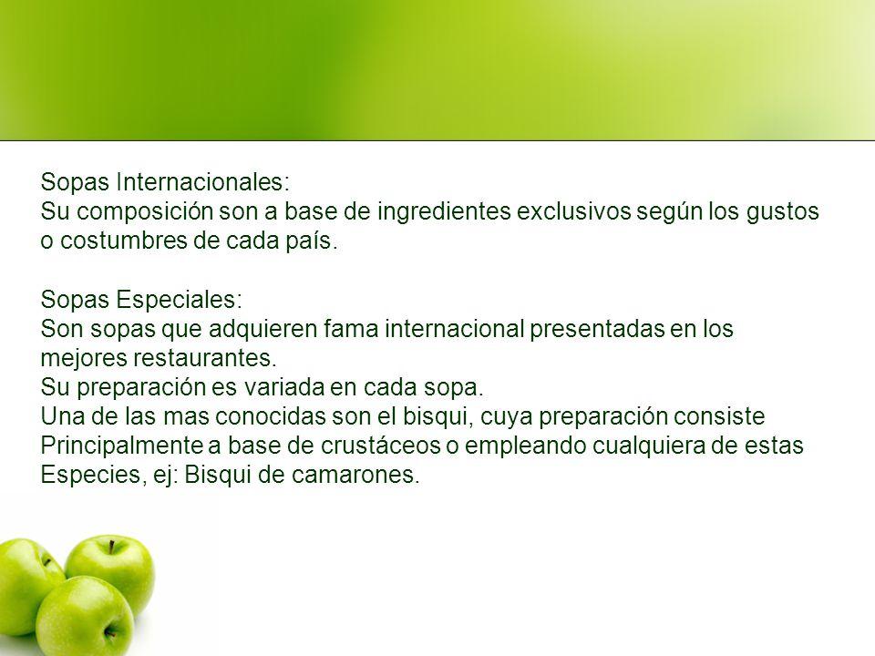 Sopas Internacionales:
